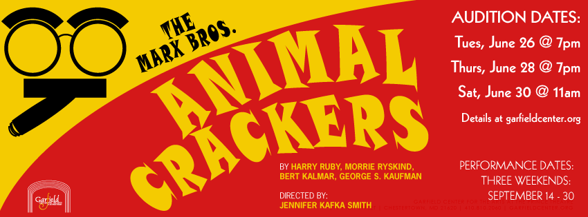 Animal Crackers Open Auditions! | The Garfield Center for the Arts