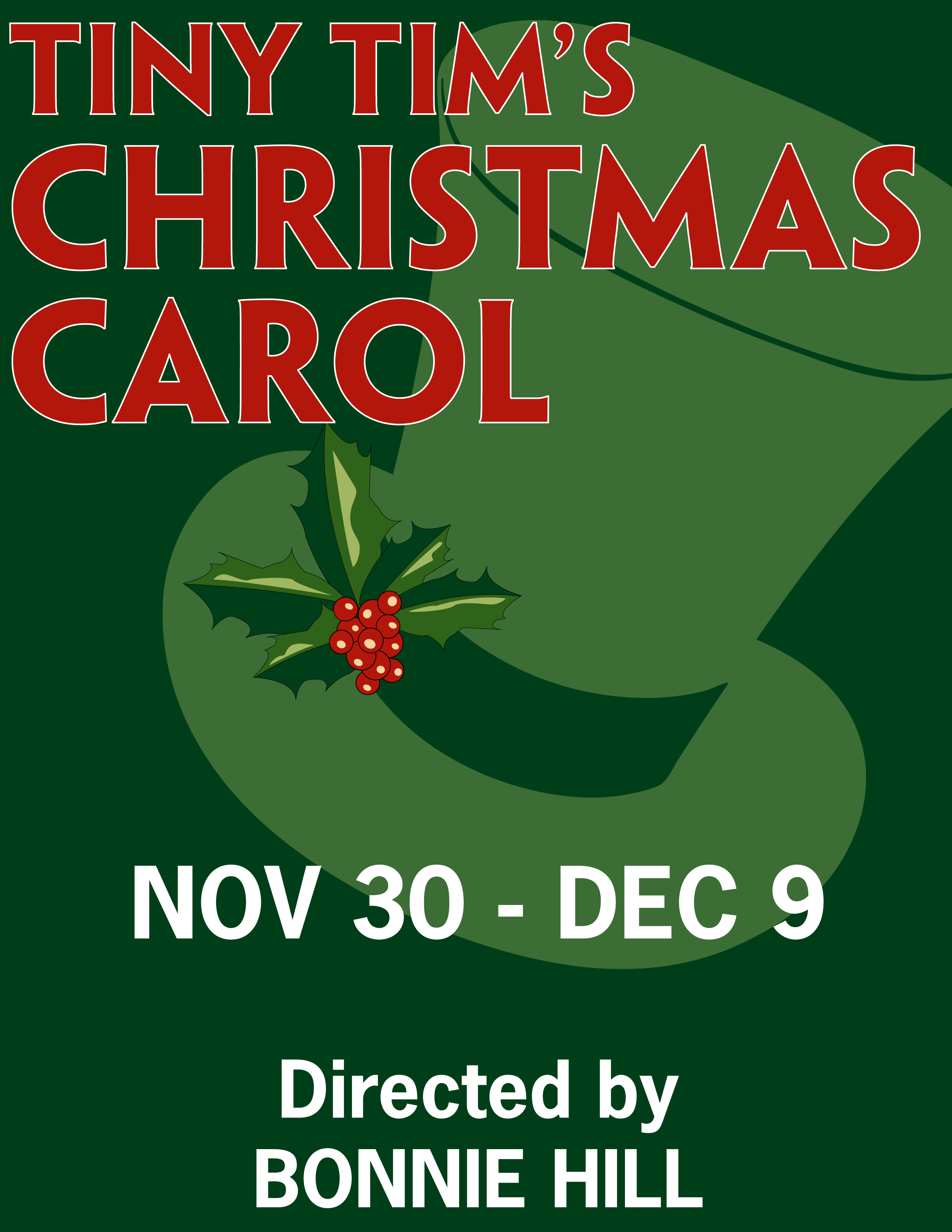 Tiny Tim's Christmas Carol | The Garfield Center for the Arts at ...